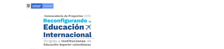 Convocatoria de proyectos 2020 «Reconfigurando la Educación Internacional» para financiar investigaciones de IES colombianas