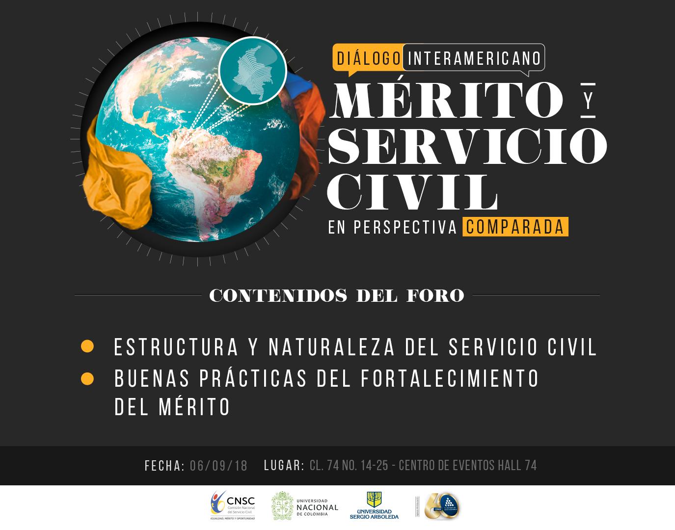 Diálogo Interamericano: «Mérito y Servicio Civil en Perspectiva Comparada», un encuentro para entender la gestión del talento humano en el Estado