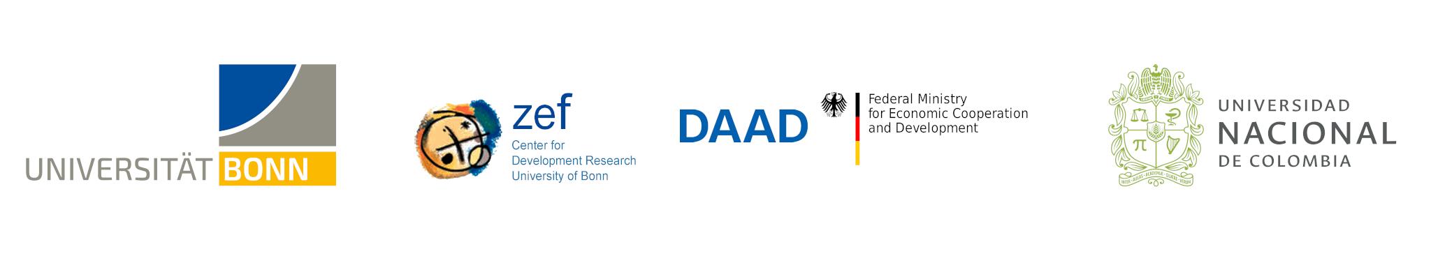 U. de Bonn, ZEF, DAAD, BMBF, UNAL