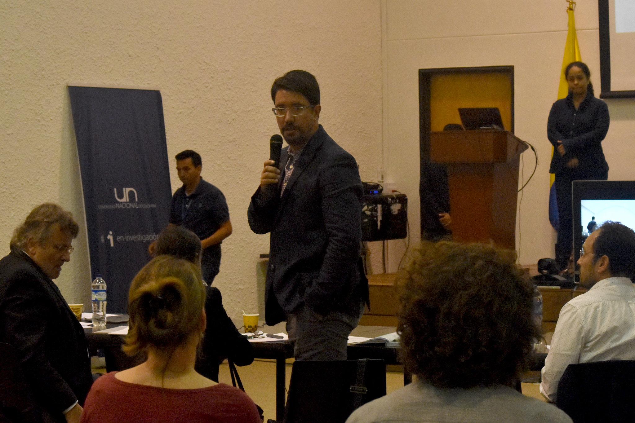 Luis Fernando Cadavid Gutiérrez, del Instituto de Genética de la U. N. (Foto: Laura Berrío)