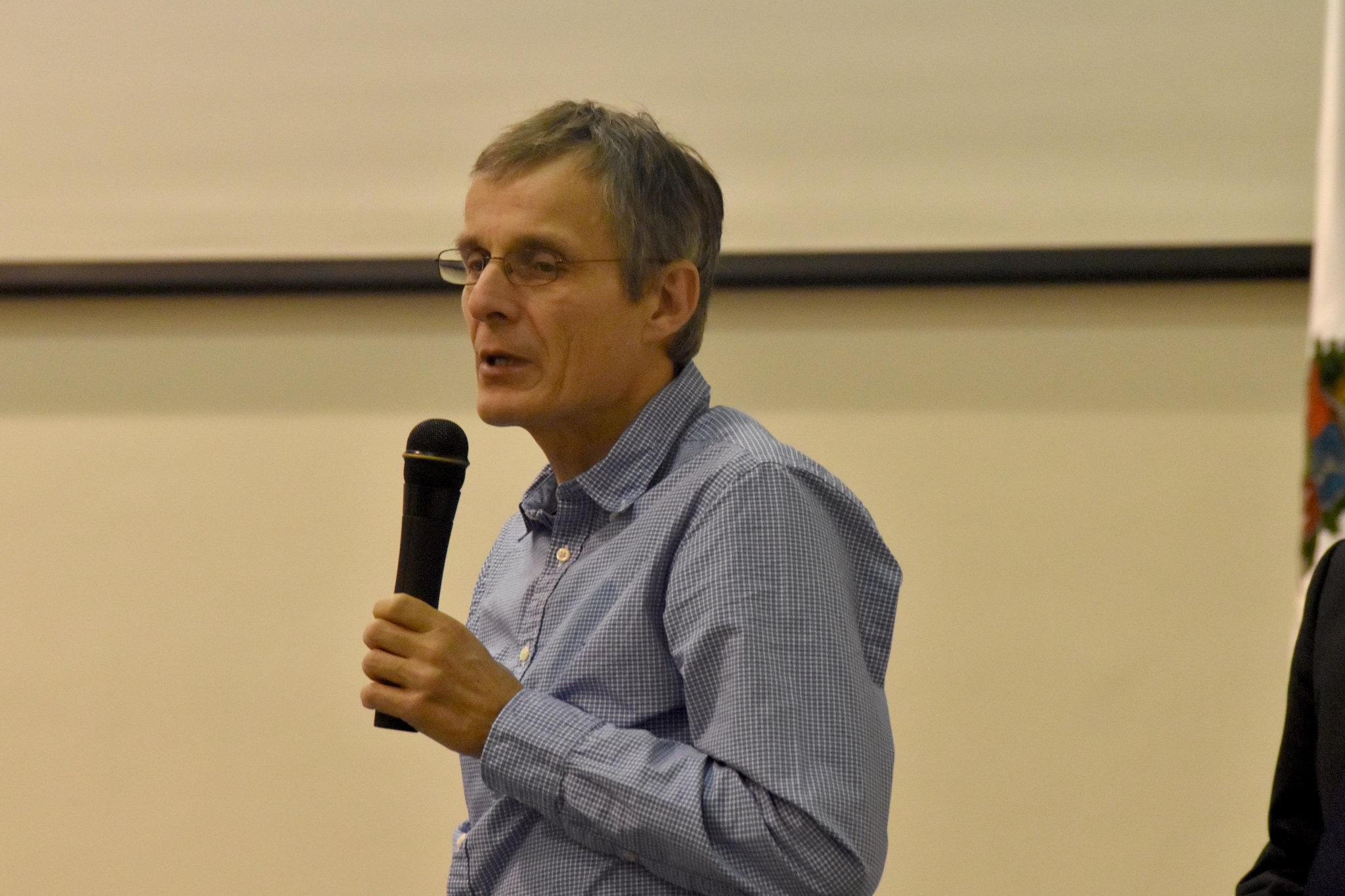 Christian Griesinger, de la Sociedad Max Planck (Foto: Laura Berrío)