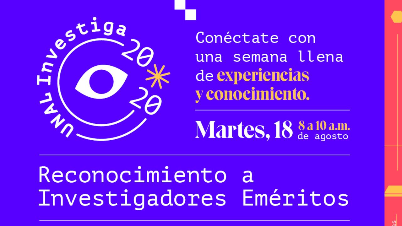 18 agosto 2020 / reconocimiento a                       investigadores eméritos (parte 1)