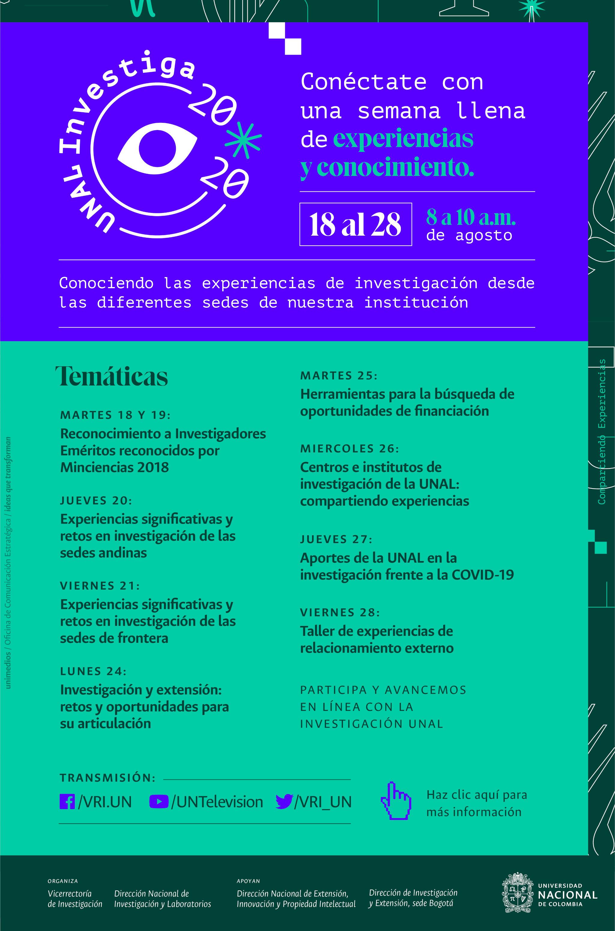 #UNALinvestiga2020